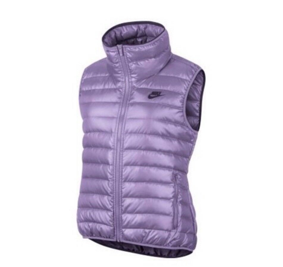 e7d0d242e9dc Details about Nike Women´s NSW 550 Down Filled Vest Body Warmer Casual Gilet  Size S