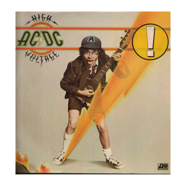 AC/DC Lp Vinile High Voltage / Atlantic ‎ATL 50 257 Nuovo 0075679017116