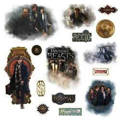 Wall Decals NEW * Fantastic Beasts and Where to Find Them * Harry Potter