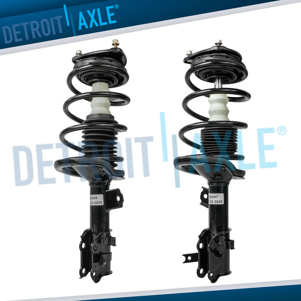 2008 Hyundai Accent Suspension: 2 Front Strut Coil Spring For 2006 2007 2008 2009 2010