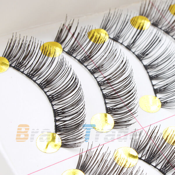 fae97185d93 Details about Upgraded Half Eye Magnetic Eyelashes 3D False Eye Lashes  Extension Natural Look