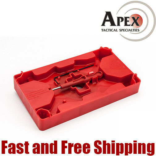 Apex Tactical Polymer Armorer Tray w/ Pin Punch for S&W M&P and Glock (104-110)