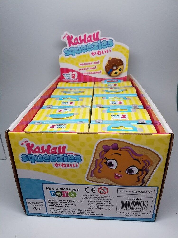 Full Case Of 20 Kawaii Squeezies Series 2 Blind Box Quot Food