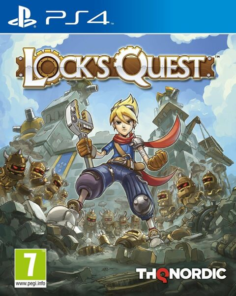 Lock's Quest - Remastered Edition Playstation 4 VF/US Neuf