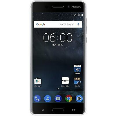 New Nokia 6 Super 3000 Battery Duos 32gb 3gb Android Nougat 4g Lte Volte Sealed