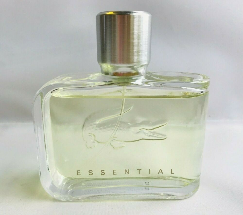 c75b310bf6 Details about LACOSTE ESSENTIAL EDT Spray Pour Homme, 2.5 fl oz Men 95%  FULL Boxed!