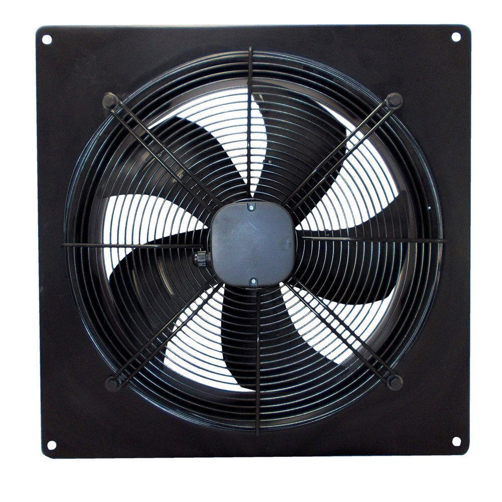 Industrial Axial Fans : Industrial ventilation extractor metal axial exhaust