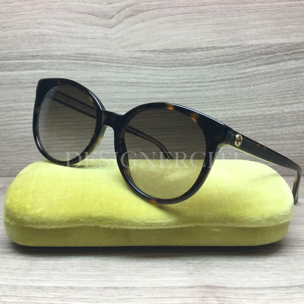 5528052a036 Details about Gucci GG 3820 S GG3820 S Sunglasses Havana Gold KCL JD  Authentic 54mm