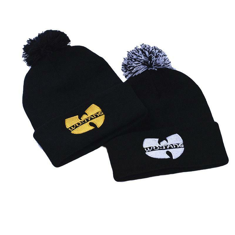 633fc186702 Details about New Wu Tang Clan Beanie Hat Unisex Knitted Wu-Tang Hip Hop  Ski Winter Skully Cap