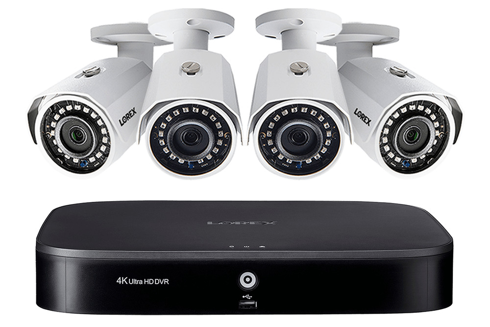Lorex 2k Super Hd 4 Channel Security System With 4 Super