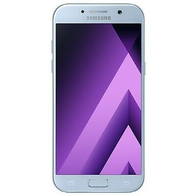 """New Imported Samsung Galaxy A7 2017 Duos Dual 32gb 3gb 5.7"""" 16mp 16mp Blue Color"""