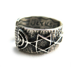 Kyпить  Silver ring Grafted In Symbol 925 Sterling Silver made in Jerusalem Holyland на еВаy.соm