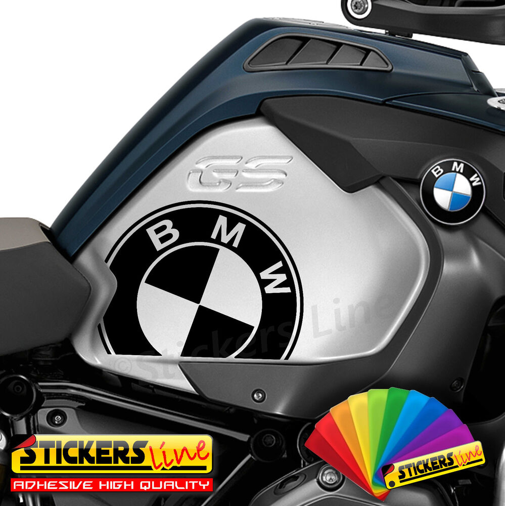 2 adesivi serbatoio bmw r 1200 gs adventure r1200 gs. Black Bedroom Furniture Sets. Home Design Ideas