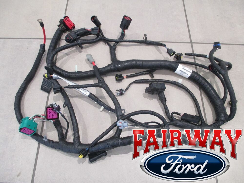 ford engine wiring harness kits ford engine wiring harness 05-07 super duty oem ford engine wiring harness 6.0l 11/4 ...