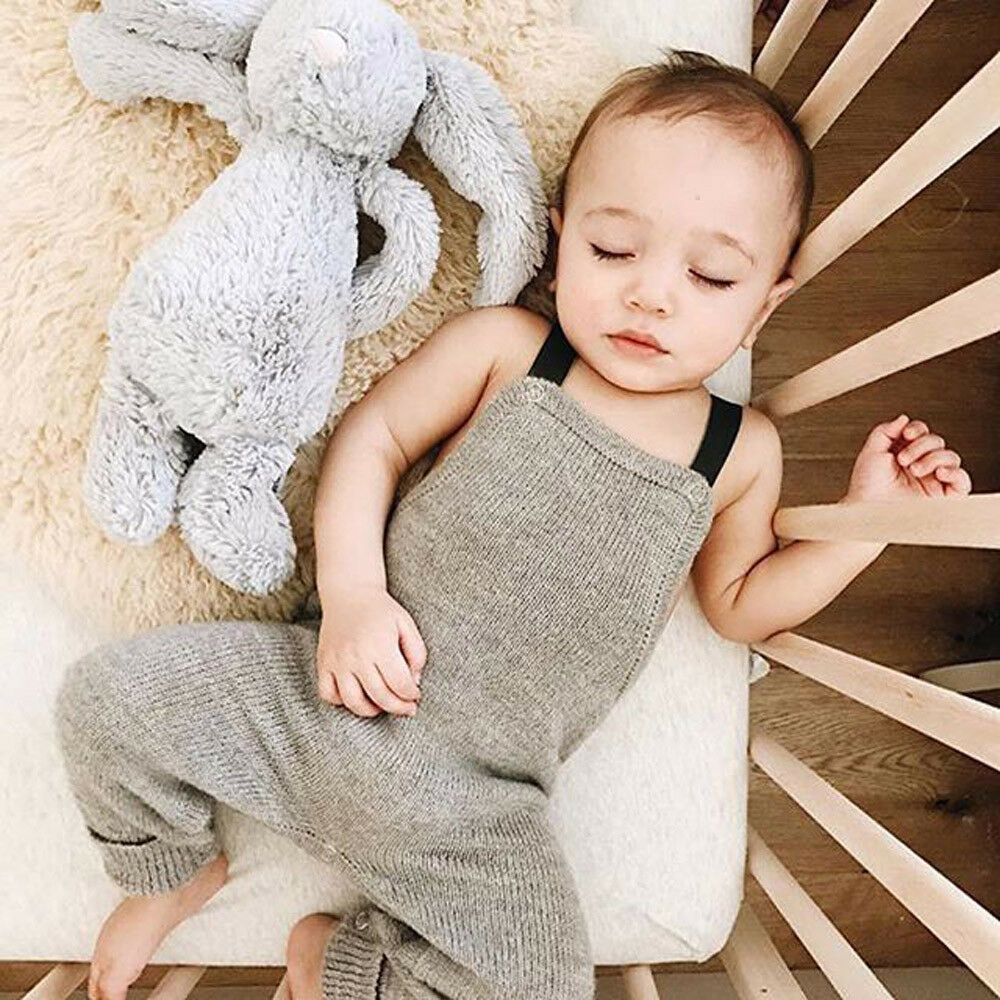 05147593a Details about Fashion Infant Toddler Newborn Baby Boy Girl Clothes Knitted  Romper Jumpsuit New