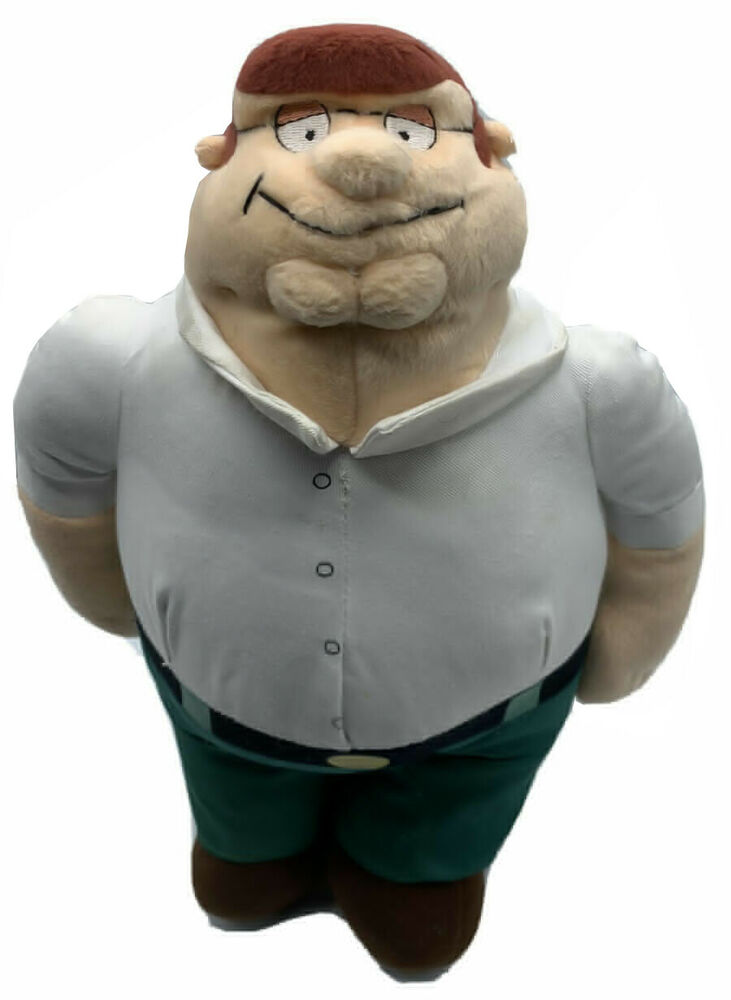 Details About Peter Griffin Doll Family Guy Plush Stuffed Play By Toy Raregreat Deta