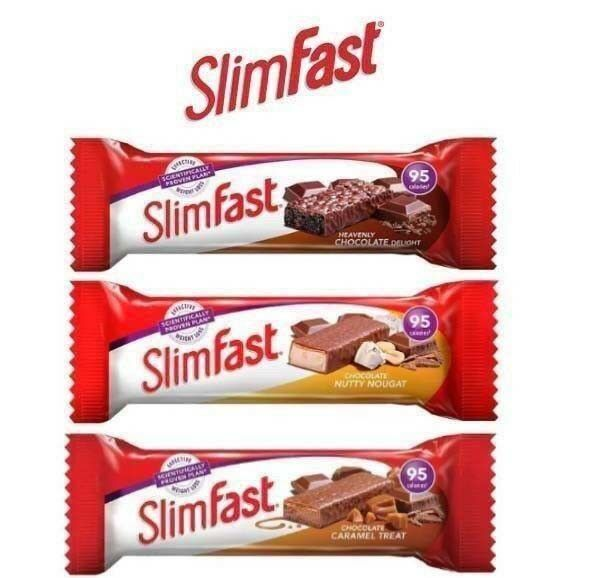 20 Slimfast Snack Bar Diet Weight Loss Plan Replacement