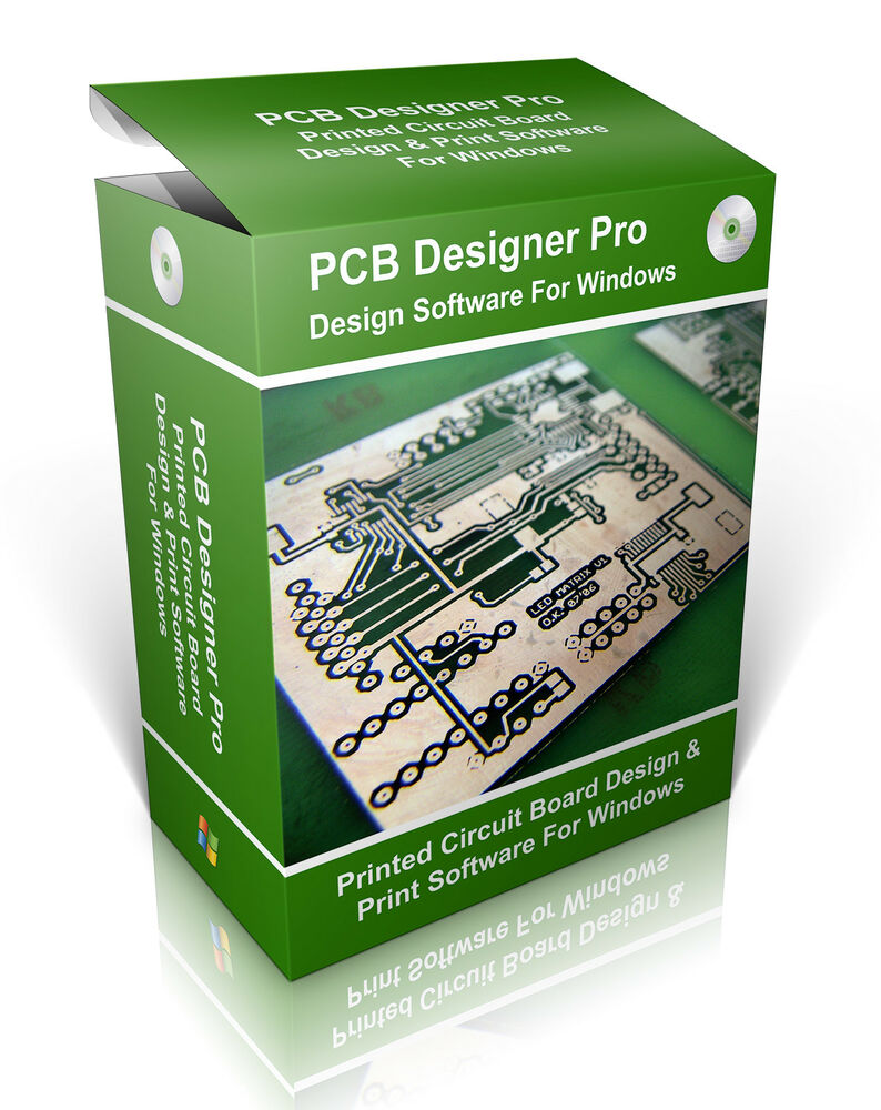 Pcb Cad Electronic Circuit Board Diagram Design Software Proto Printed Designer Typing Ebay