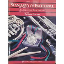 Standard of Excellence Comprehensive Band Method:  Trombone-Book 1