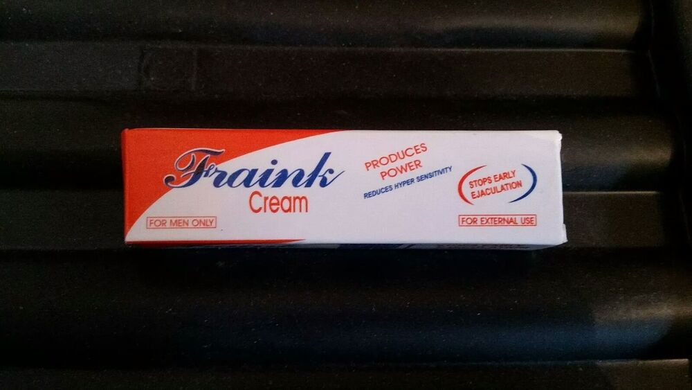 Details about Fraink Cream STOP Early ejaculation delay longer powerful sex  time 4ml no PILLS.