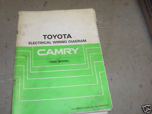 2007 toyota camry wiring diagram 1986 toyota camry electrical wiring diagram ... #10