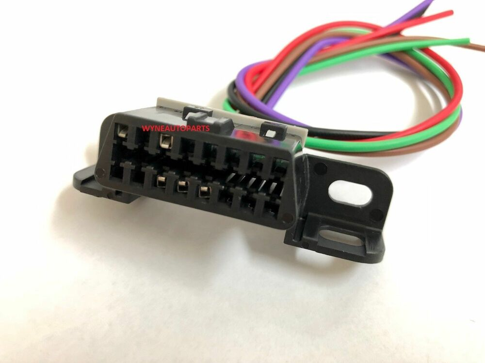 details about pontiac gto 05-06 ls2 obdii obd2 aldl dlc wiring harness  connector pigtail