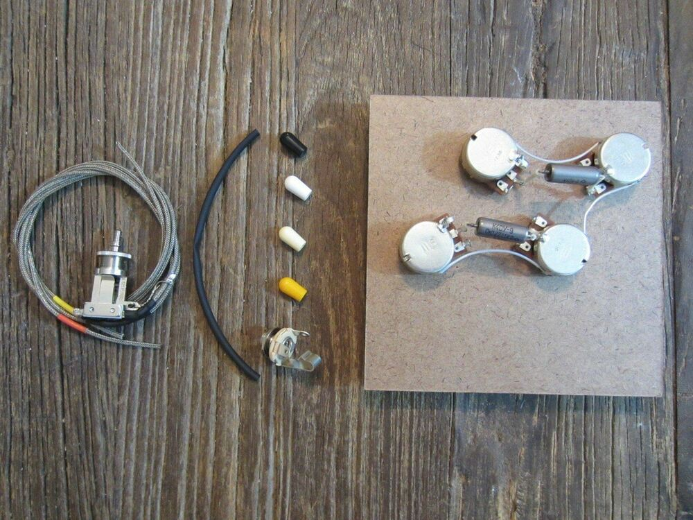 les paul 50s style pre wired wiring harness kit. Black Bedroom Furniture Sets. Home Design Ideas