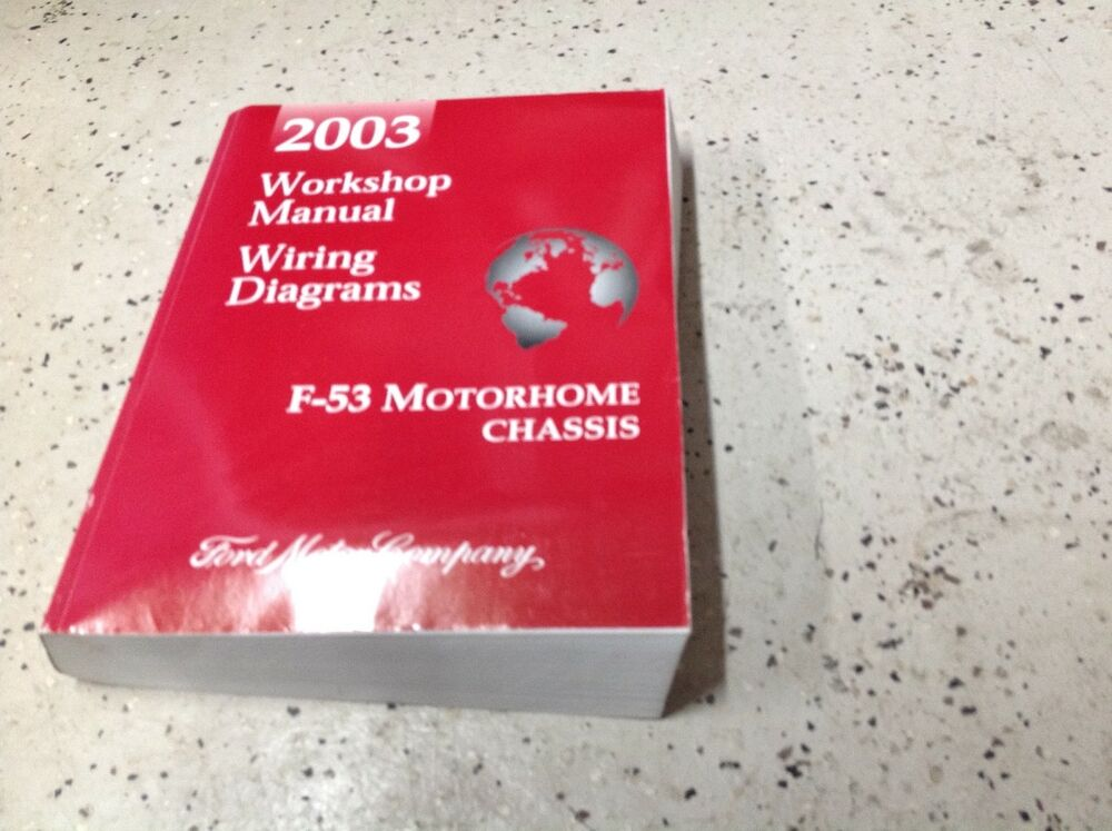 2003    Ford       F53       F53    Motorhome Chassis Service Repair Shop Manual W    Wiring       Diagram      eBay