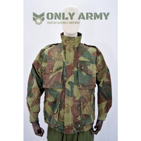 img-1950s Belgian Army Para Trooper Congo Jacket / Smock Denison Cut Vintage Surplus