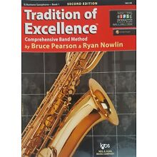 Tradition of Excellence  Eb Baritone Saxophone-Book 1