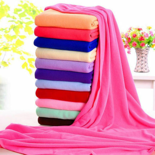Red Microfiber Bath Towels: Large Bath Towels 70x140cm Microfiber Fiber Water