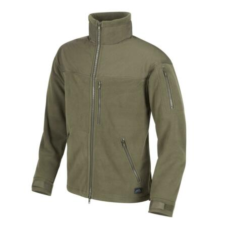 img-Helikon Tex Classic Army Fleece Jacket Olive Green Green Outdoor