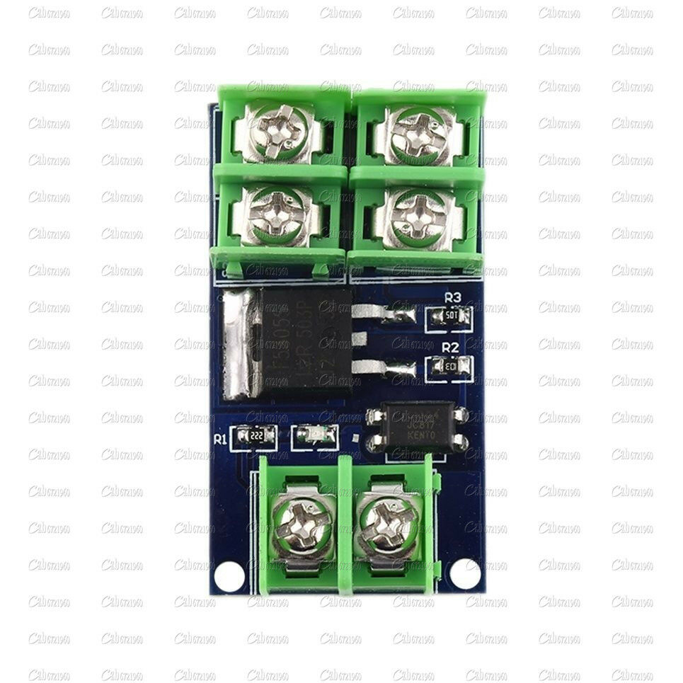 Popular Brand Dc 5v-36v Electronic Pulse Trigger Switch Control Panel Mos Fet Field Effect Module Driver For Led Motor Pump Active Components Electronic Components & Supplies