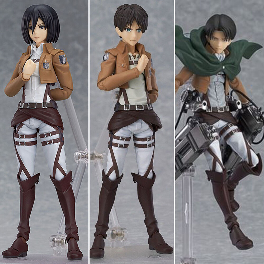 Attack On Titan Eren Mikasa Levi Shingki No Kyojin Manga