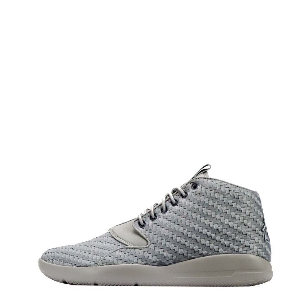 609c8b820c55b4 Details about Nike Jordan Eclipse Chukka Men s Casual Walking Shoes Wolf  Grey White
