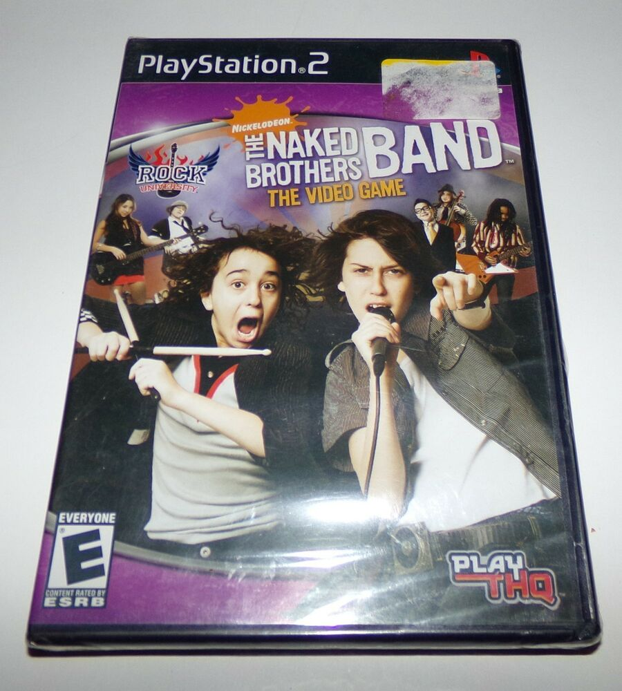 The Naked Brothers Band the Video Game Sony Playstation 2