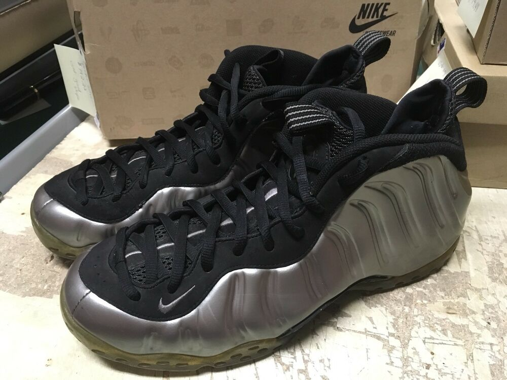 334b1fbc31b Details about USED MENS NIKE AIR FOAMPOSITE ONE PEWTER SILVER 314996 004 SZ  11.5 FREE AIR MAX
