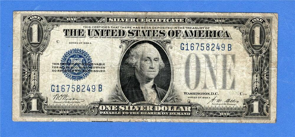 $1 One Dollar SILVER CERTIFICATE RARE BLUE SEAL! or 1957 A-H A-B 3x Lot 1935