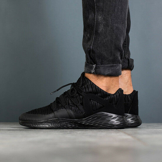 ae0ba94fa2db23 Details about NIKE AIR JORDAN FORMULA 23 LOW BLACK OUT ATHLETIC TRAINING  GYM SHOES SNEAKER