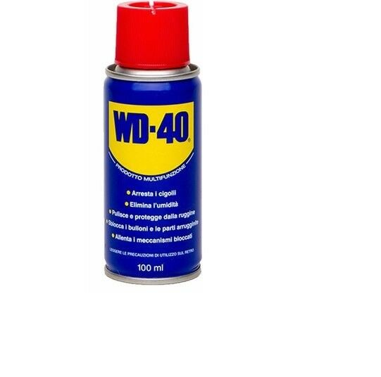 Lubrificante spray WD-40 bomboletta da 100 ml svitante togliruggine