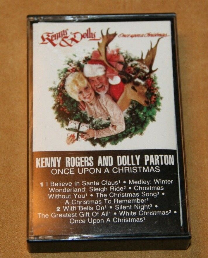 KENNY ROGERS & DOLLY PARTON CASSETTE \