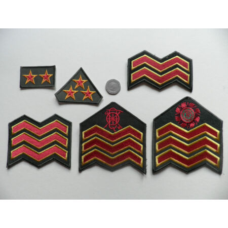 img-Irish Defence Force, Army Rank Patch Badges. NCO ranks. New.