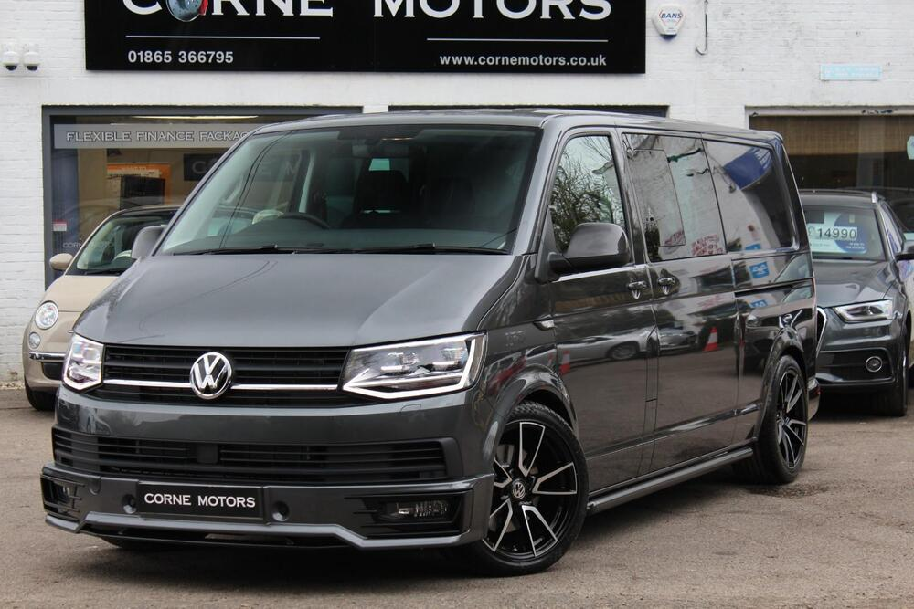 2018 volkswagen transporter t6 kombi 2 0 tdi 150ps eu6 lwb. Black Bedroom Furniture Sets. Home Design Ideas