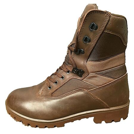 img-YDS Kestrel Brown British Army Boots MTP Surplus Issue Leather Combat Military