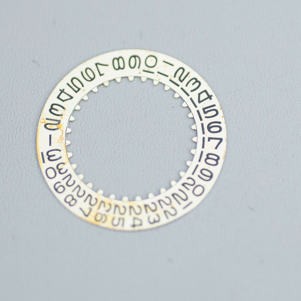 Patina Fat Font Rolex Submariner Gmt Date Disc Wheel 1675 1680 1560 Parts Diagram For Cal 3035 1 Gent39s Datejust As It 1570 1575 Ebay