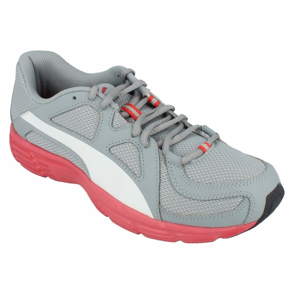 Details about MENS PUMA LACE UP ROUND TOE LIGHT WEIGHT RUNNING TRAINER SHOES  AXIS V3 MESH f5d16de1b5d