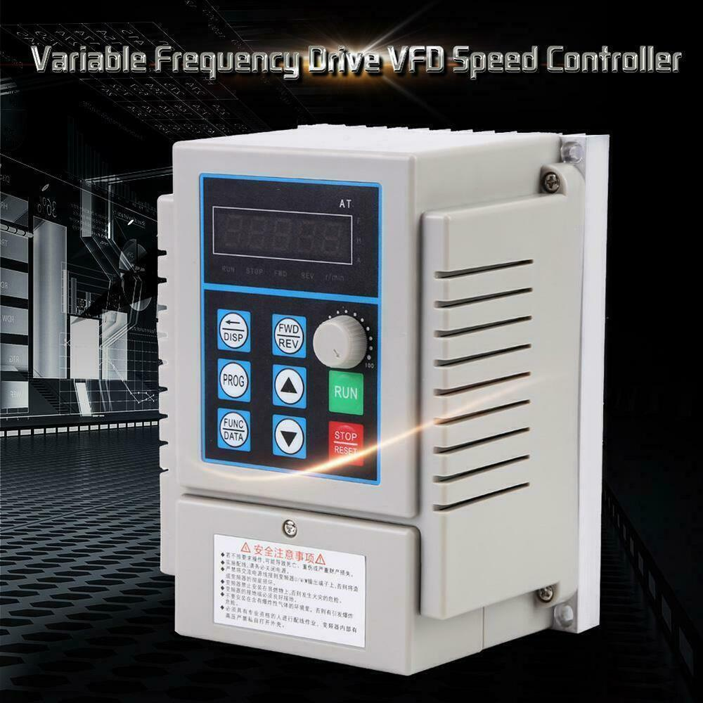 Ac220v Single Phase Variable Frequency Drive Vfd Speed Controller Circuit Diagram 045kw Motor 863106121532 Ebay