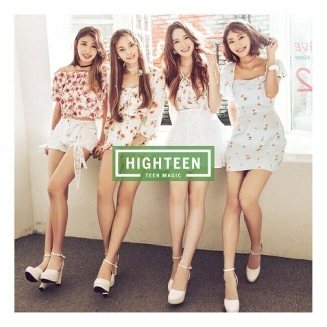 Details about HIGHTEEN [TEEN MAGIC] 1st Mini Album CD+Photobook K-POP SEALED
