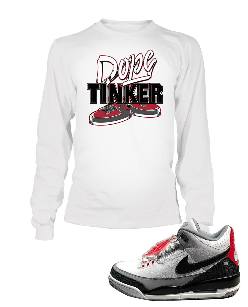 68882d9884d24f Details about Dope Tee Shirt To match Jordan 3 Tinker Shoe Men Graphic T  Sizes Small to 7XL
