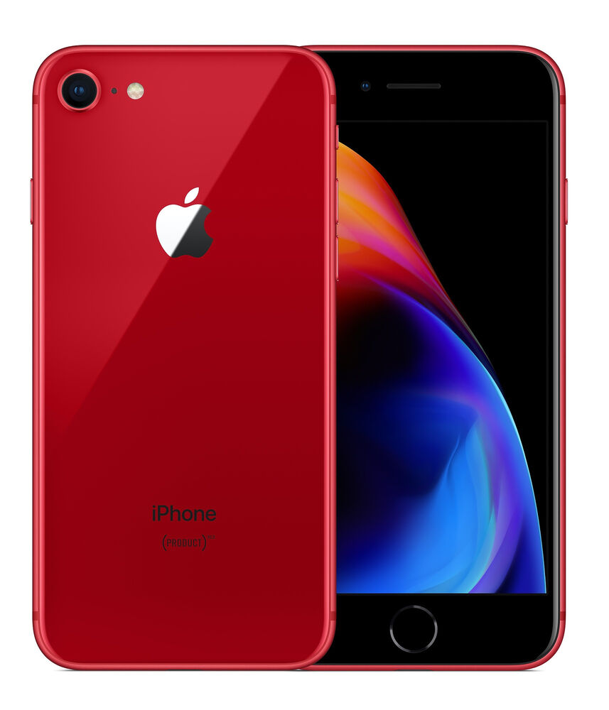 Apple iPhone 8 64GB (PRODUCT)RED SPECIAL EDITION- GSM Unlocked-USA -BRAND-NEW!! | eBay
